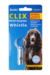 Receive a FREE CLIX multi-purpose whistle with every CLIX order