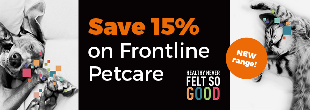 15% OFF Frontline Pet Care
