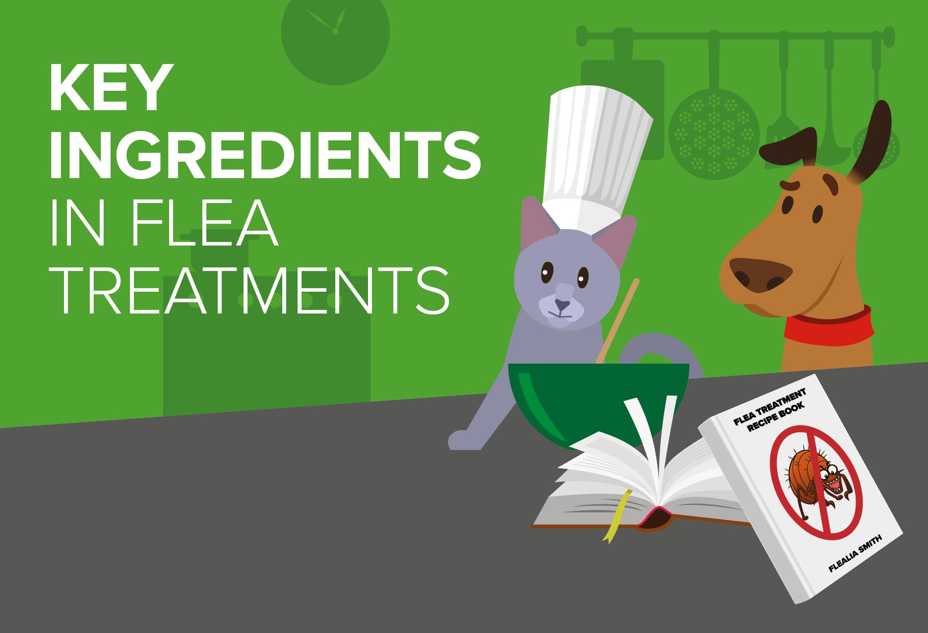 Key ingredients in flea treatments