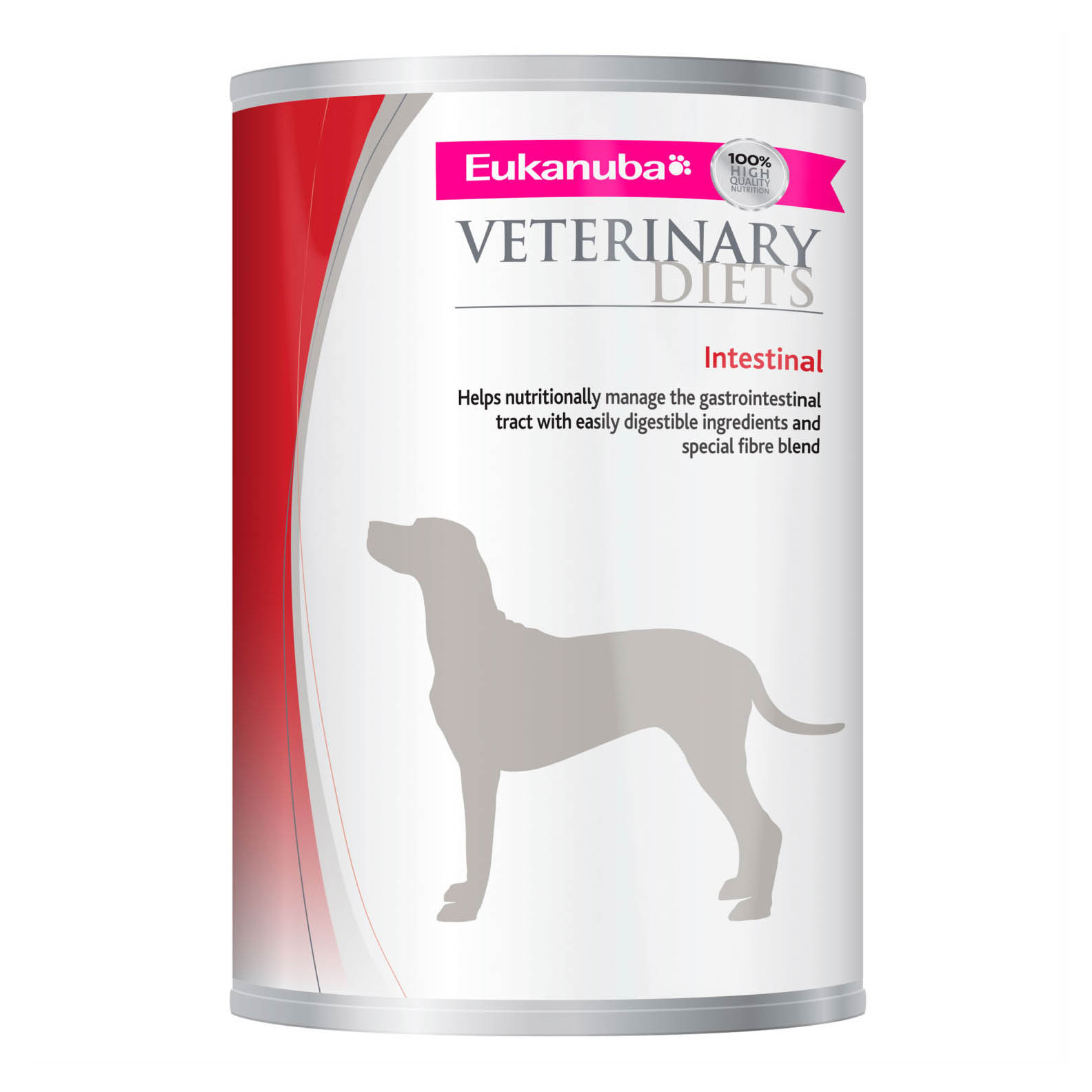 Eukanuba Veterinary Diets Intestinal Dog Food Wet 12x400g Can on Animed Direct