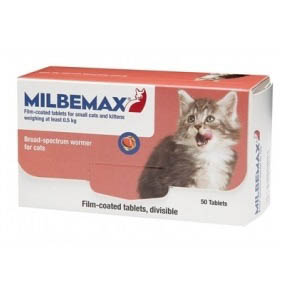 Milbemax Tablet for Small Cats and Kittens on Animed Direct