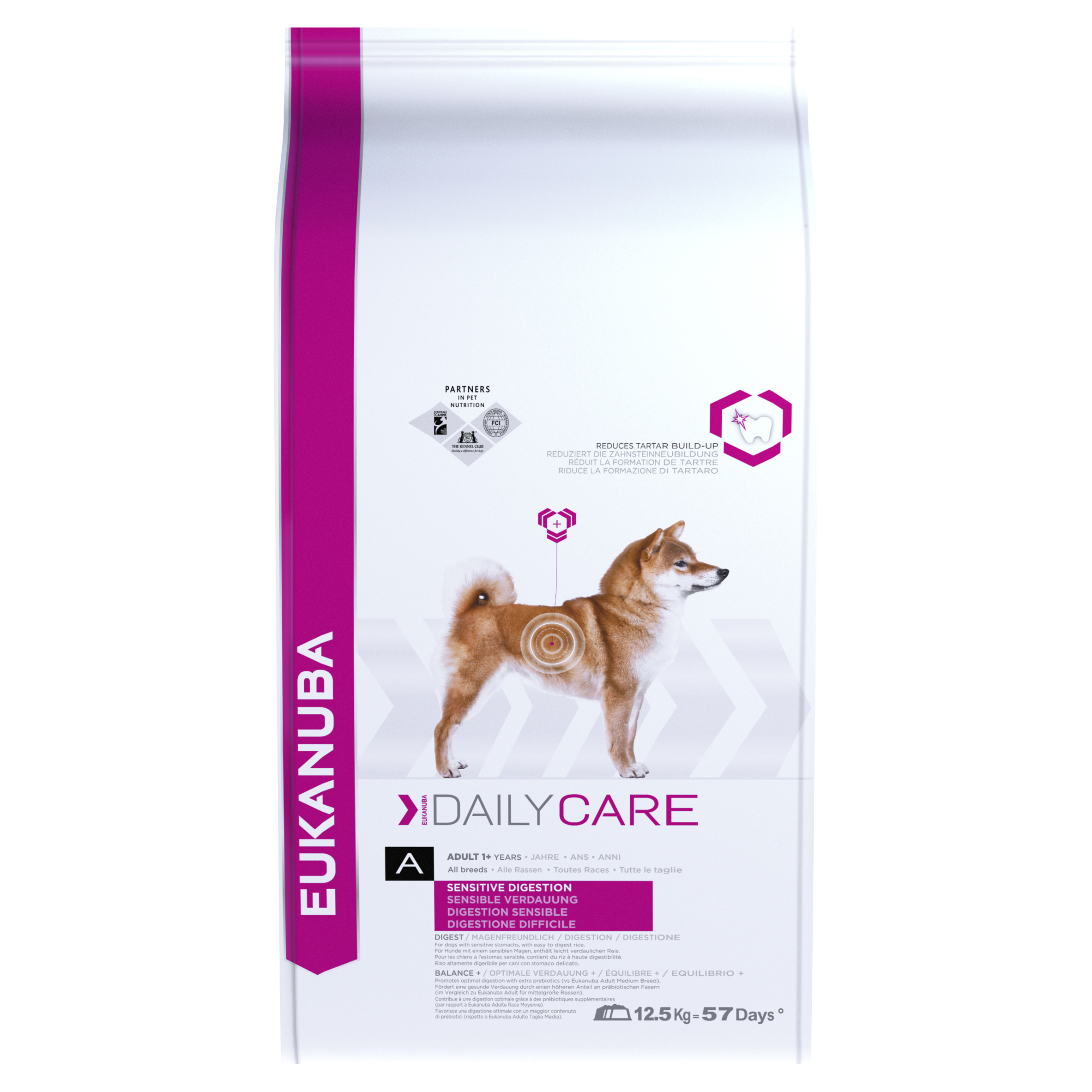 Eukanuba Daily Care Sensitive Digestion Adult Dog with Chicken Dry 12.5kg on Animed Direct