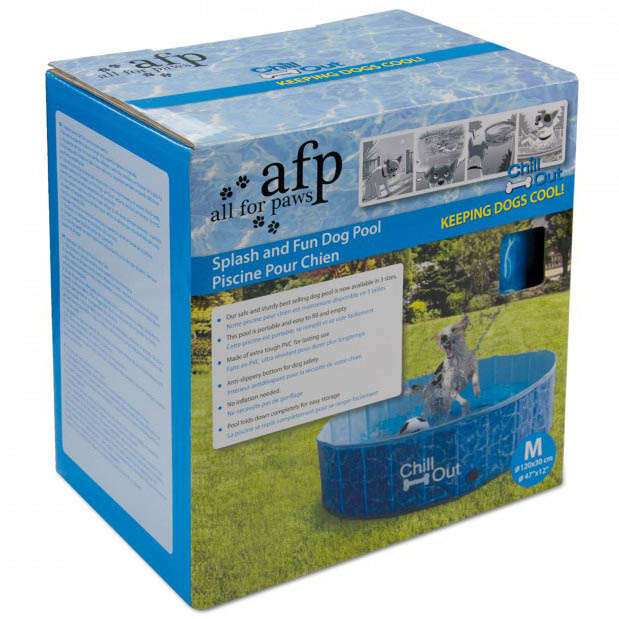 All For Paws Chill Out Splash and Fun Dog Pool - Medium on Animed Direct