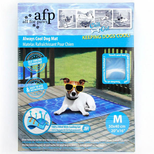 All For Paws Chill Out Always Cool Dog Mat Medium on Animed Direct