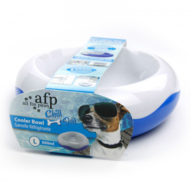 All For Paws Chill Out Cooler Bowl Large on Animed Direct