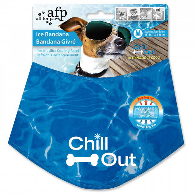 All For Paws Chill Out Ice Bandana Medium on Animed Direct