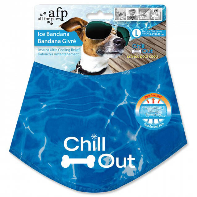 All For Paws Chill Out Ice Bandana Large on Animed Direct