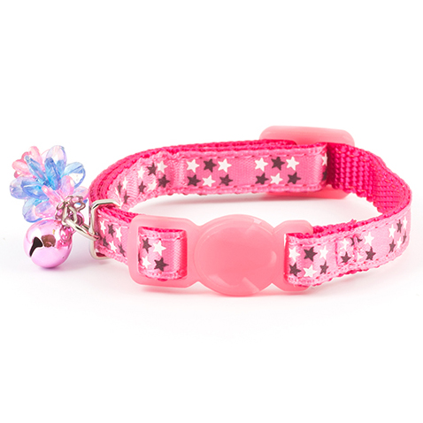Ancol Kitten Collar Stars Pink on Animed Direct