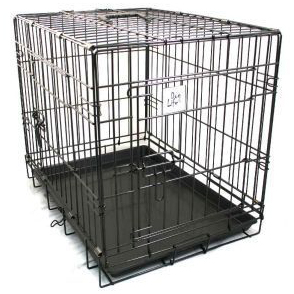 Dog Life Double Door Car Crate 24 inches on Animed Direct