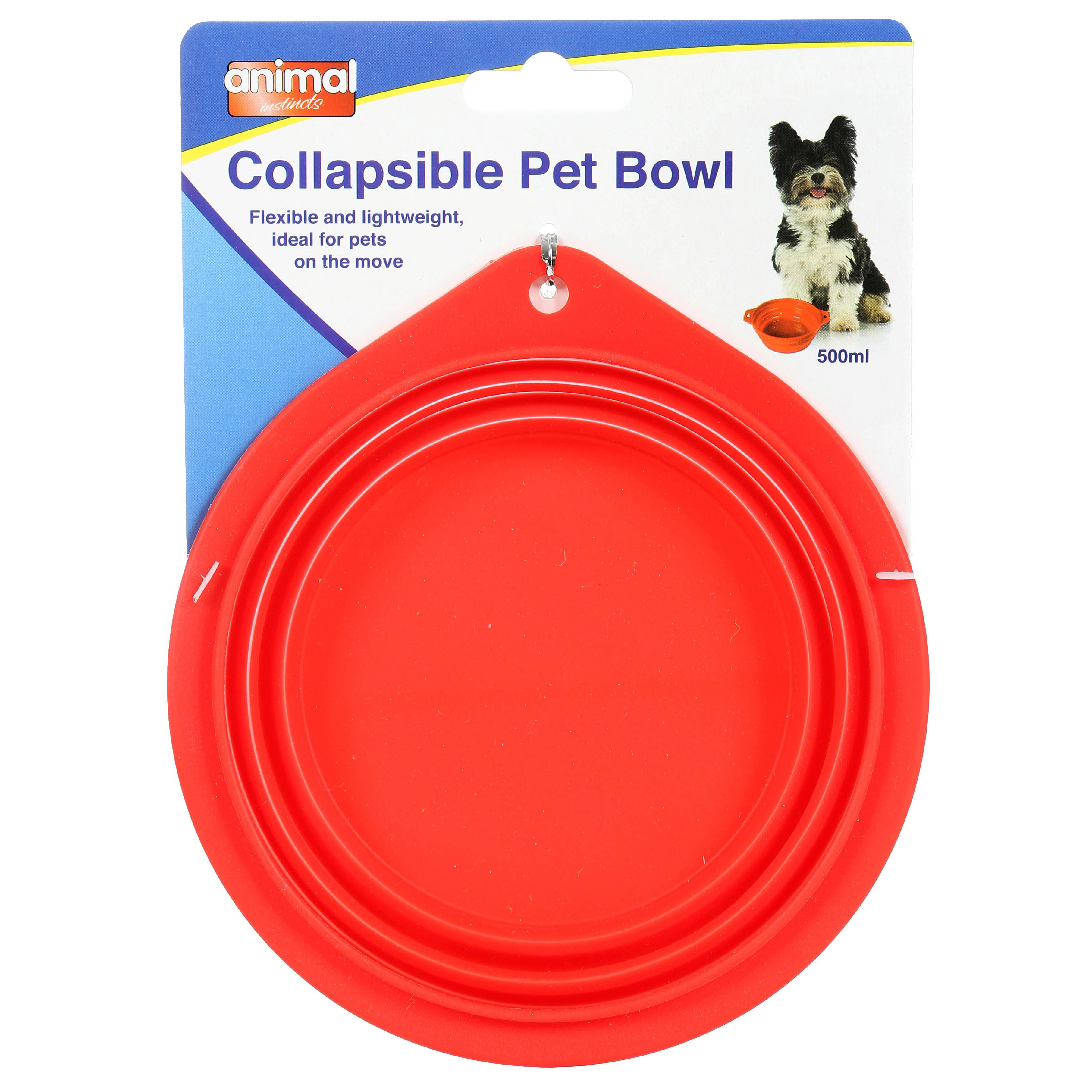Animal Instincts Travel Collapsible Bowl 0.5L on Animed Direct
