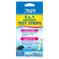 API 5 In 1 Aquarium Test Strips on Animed Direct