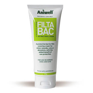 Aniwell FiltaBac Antibacterial Sunblock Cream - 220g Tube on Animed Direct