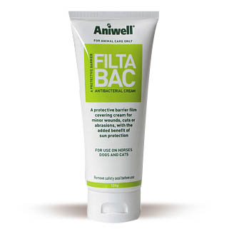 Aniwell FiltaBac Antibacterial Sunblock Cream - 120g Tube on Animed Direct
