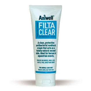 Aniwell FiltaClear Antibacterial Sunblock Cream for Cats, Dogs and Horses 50g on Animed Direct