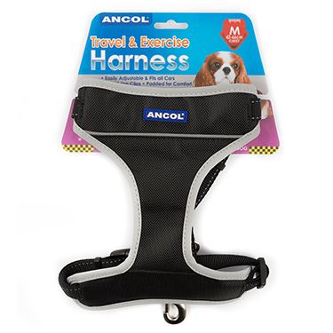 Ancol Dog Travel & Exercise Harness - Medium on Animed Direct