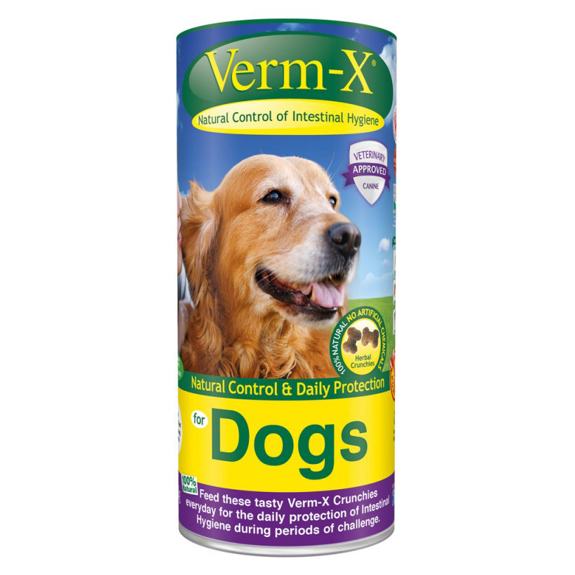 Verm-X for Dogs - Crunchies - 100g on Animed Direct
