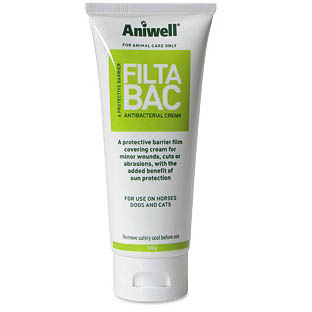 Aniwell FiltaBac Antibacterial Sunblock Cream - 50g Tube on Animed Direct