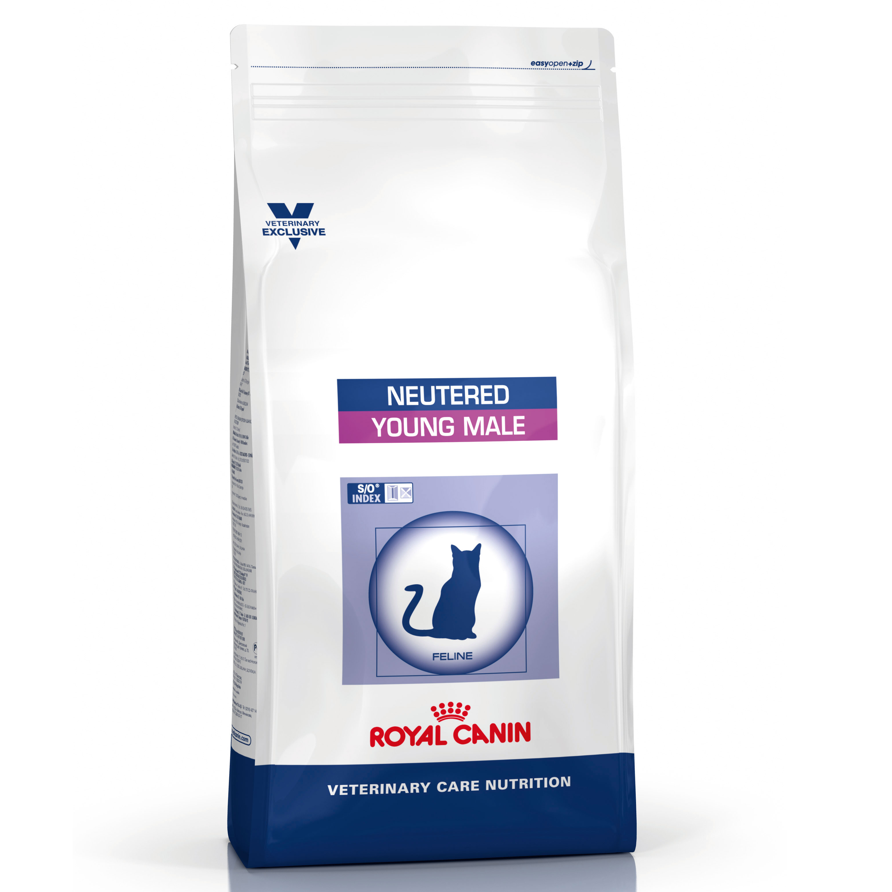 Royal Canin Vet Care Nutrition Neutered Young Male Cat Dry 3.5kg on Animed Direct