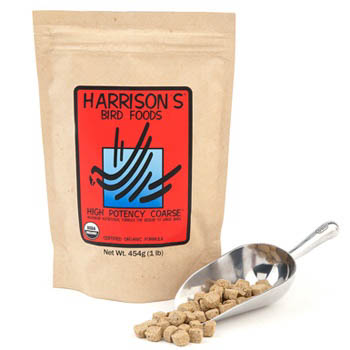 Harrisons Adult Bird Food High Potency - Coarse - 450g on Animed Direct