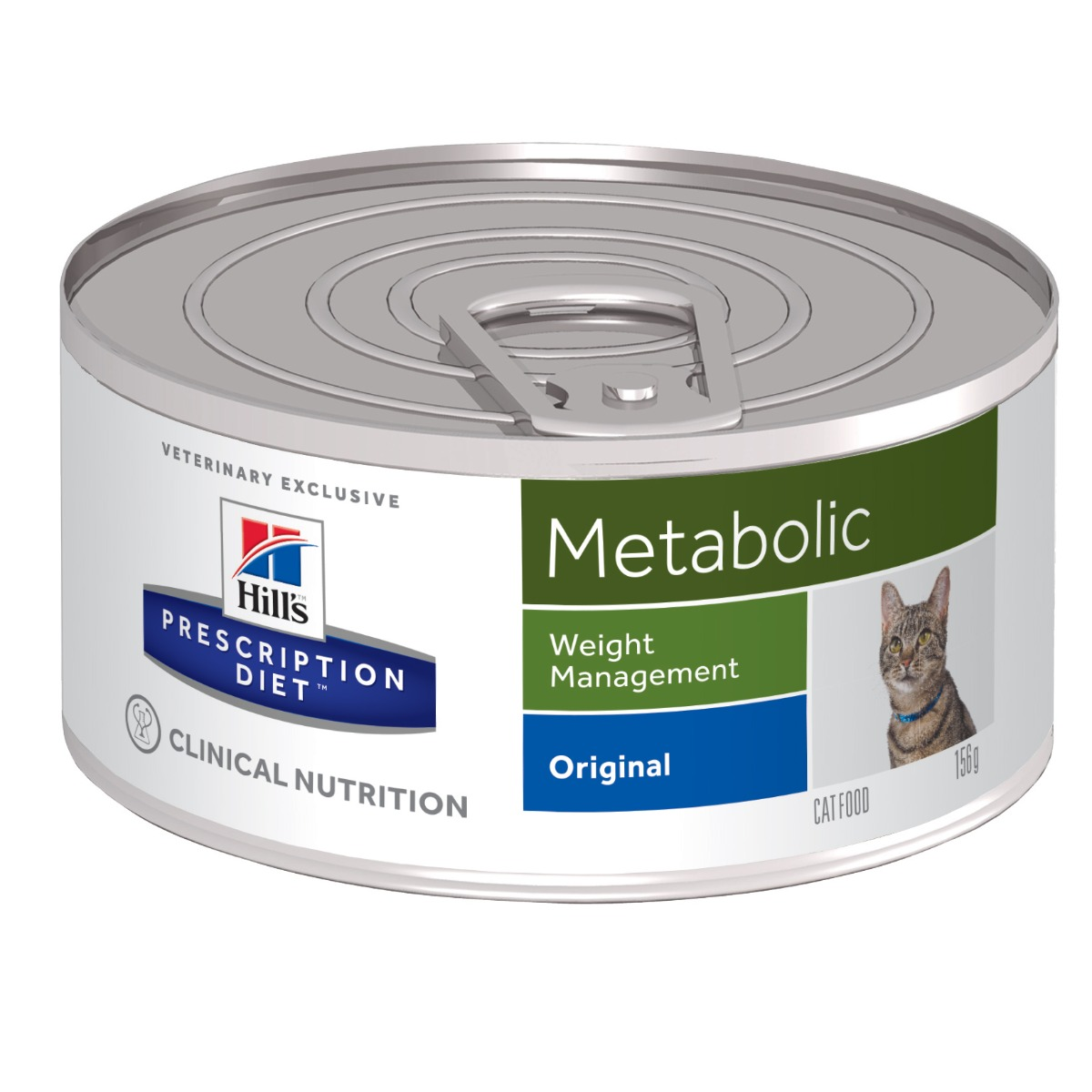 Hills Prescription Diet Metabolic - Weight Management Cat Food Wet 24x156g Can on Animed Direct