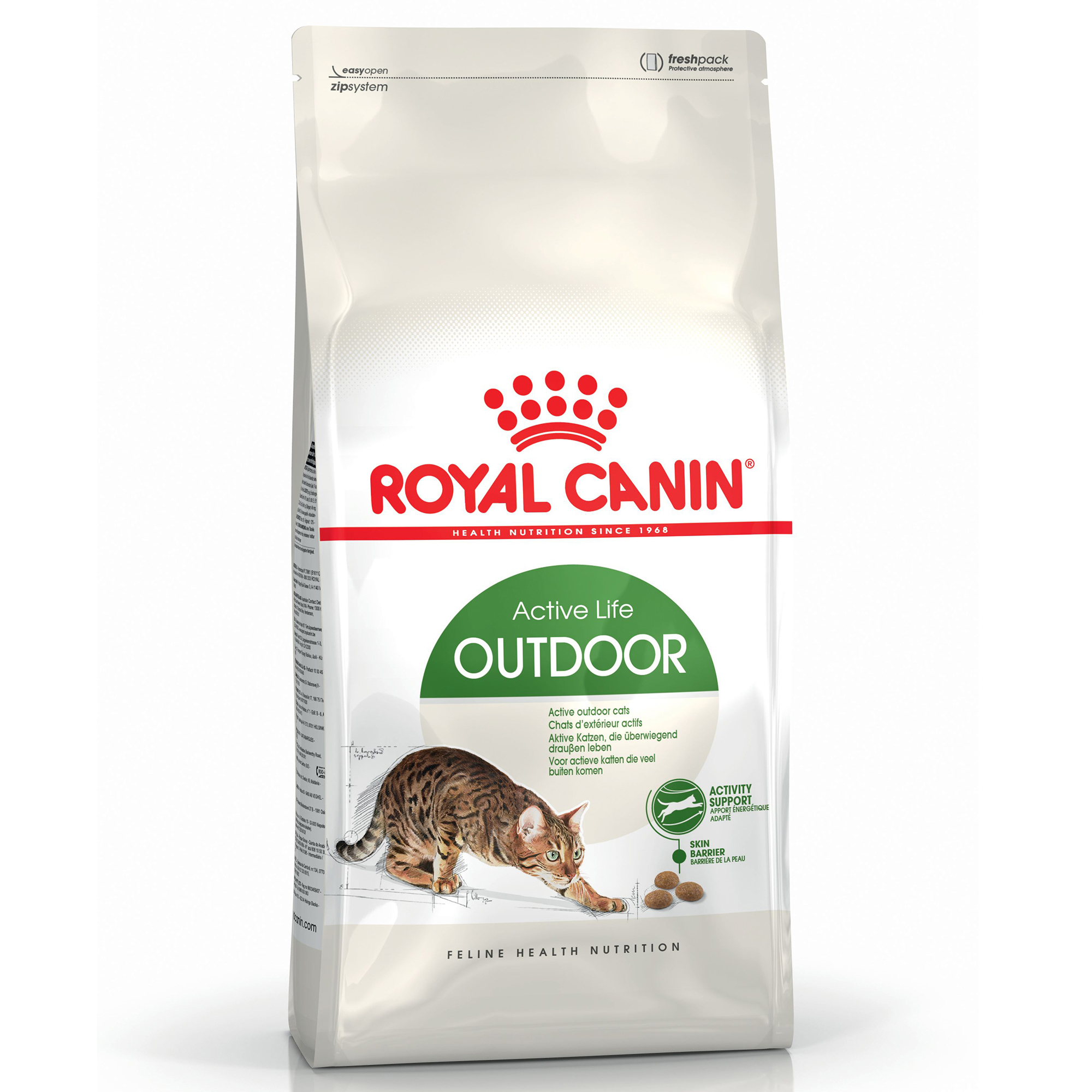 Royal Canin Feline Health Nutrition Outdoor Cat Dry Food 4kg on Animed Direct