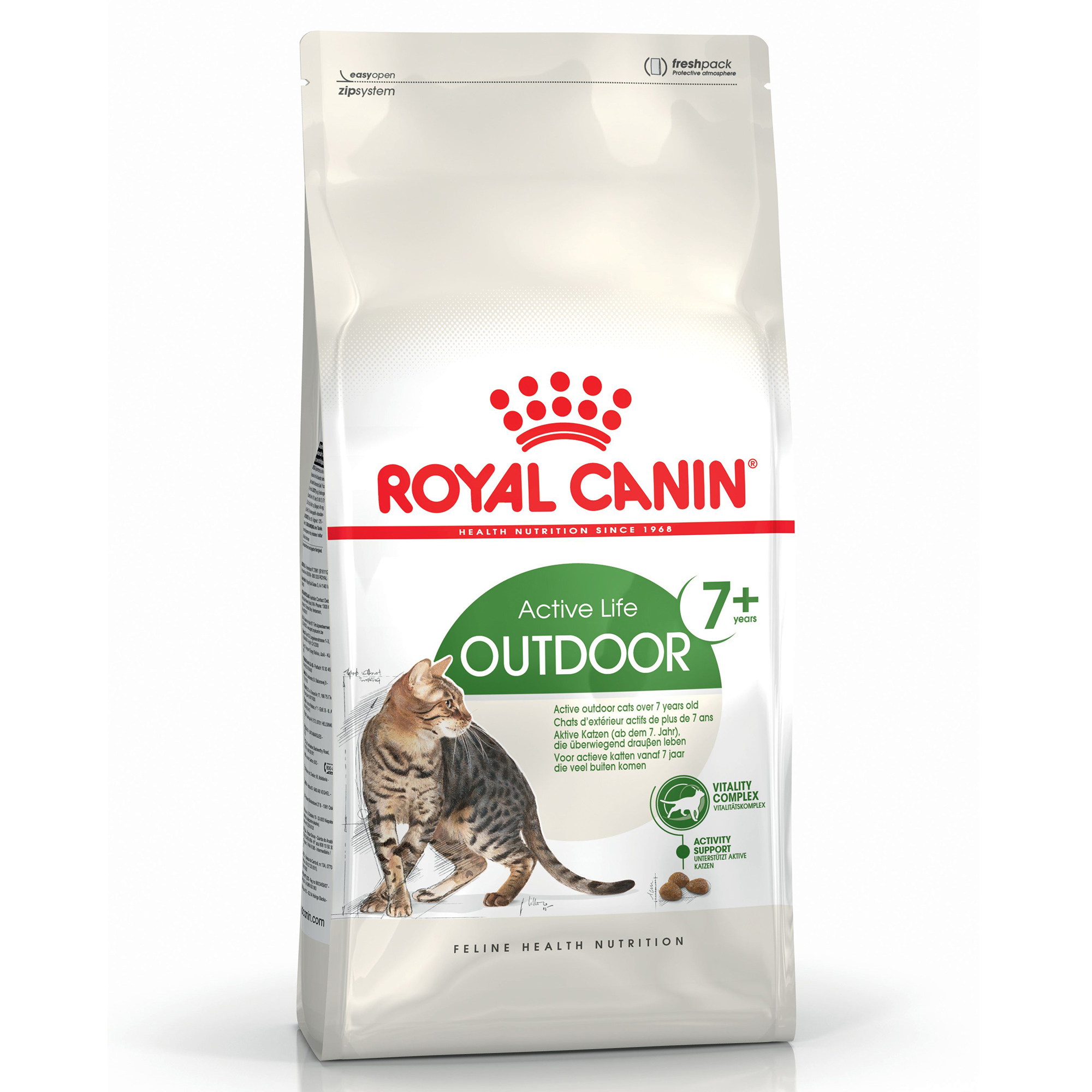 Royal Canin Outdoor 7+ Adult Dry Cat Food 4kg on Animed Direct
