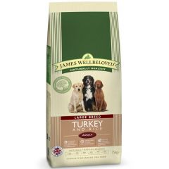 James Wellbeloved Large Breed Adult Dog with Turkey & Rice Dry