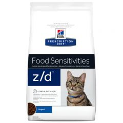 Hills Prescription Diet Z/D Food Sensitivities Feline Original Dry 2kg