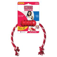 Kong Dental with Floss Rope