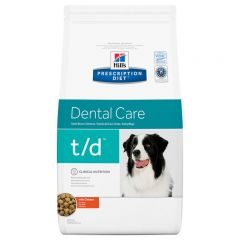 Hills Prescription Diet T/D Dental Care Canine with Chicken Dry