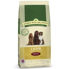 James Wellbeloved Adult Dog with Lamb & Rice Dry