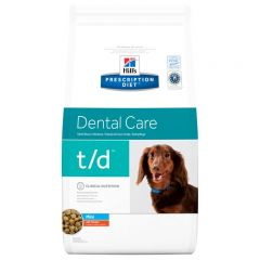 Hills Prescription Diet T/D Dental Care Mini Canine with Chicken Dry 3kg