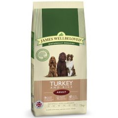 James Wellbeloved Adult Dog with Turkey & Rice Dry