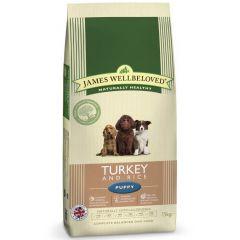 James Wellbeloved Puppy with Turkey & Rice Dry
