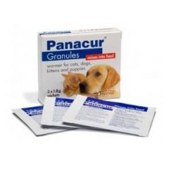 Panacur for Dogs & Cats 22% Granules Wormer Sachets