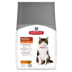 Hills Science Plan Adult Hairball Control Cat with Chicken Dry 5kg
