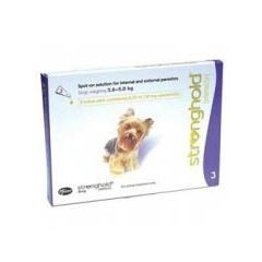 Stronghold 30mg Spot-On Solution for Toy Dogs