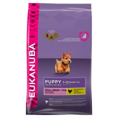 Eukanuba Puppy Small Breed with Chicken Dry