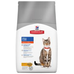 Hills Science Plan Oral Care Adult Cat with Chicken Dry 5kg