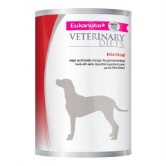 Eukanuba Veterinary Diets Intestinal Formulation Dog Food Wet 12x400g Can