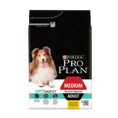 Purina Pro Plan Adult Dog Medium Sensitive Digestion with Chicken Dry