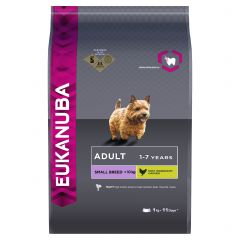 Eukanuba Adult Small Breed Dog with Chicken Dry