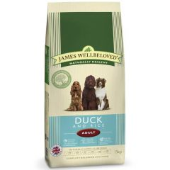 James Wellbeloved Adult Dog with Duck & Rice Dry