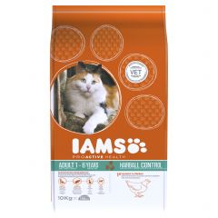 IAMS ProActive Health Adult Cat Hairball Care with Chicken Dry