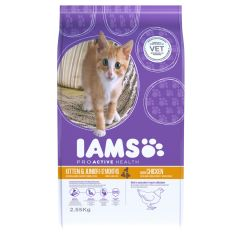 IAMS ProActive Health Kitten/Junior Cat with Chicken Dry