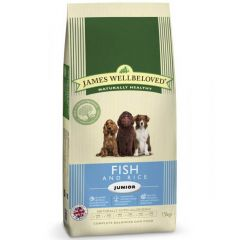 James Wellbeloved Junior Dog with Fish & Rice Dry