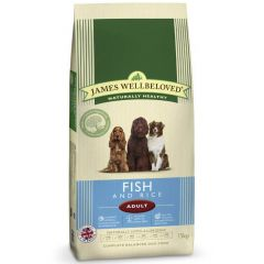 James Wellbeloved Adult Dog with Fish & Rice Dry