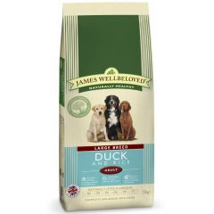 James Wellbeloved Large Breed Adult Dog with Duck & Rice Dry