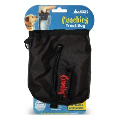 Coachies Dog Treat Black Bag