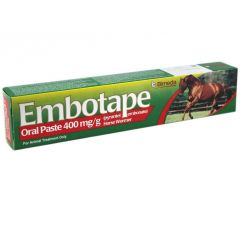 Embotape Horse Wormer - Single Syringe